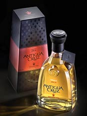 Antigua Cruz Añejo Tequila - new 2010 bottle presentation