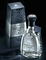 Antigua Cruz Blanco Tequila - new 2010 bottle presentation