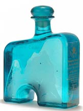 arco del cabo blanco tequila - art deco bottle