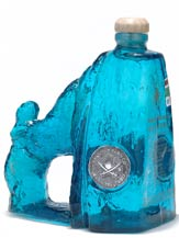 arco del cabo blanco tequila - artistic bottle