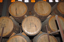 oak whiskey barrels are used to age tequila