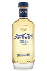 Tequila Avión Añejo - 2013 bottle design
