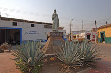 statue dedicated to mayahuel in the town of tequila, jalisco