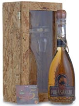 pura sangre tequila 5 year añejo with presentation case