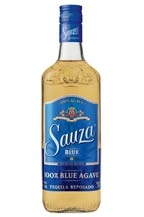 Sauza Blue Tequila - Reposado - 2011 bottle presentation
